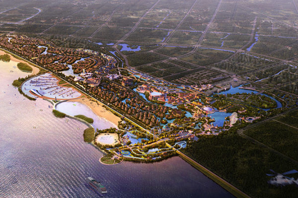 Six Flags breaks new ground in China